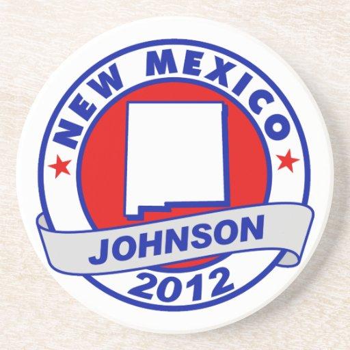 New México Gary Johnson Posavasos Diseño