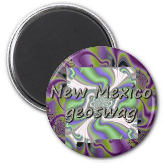 New México Geocaching suministra el imán Geoswag