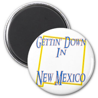 New Mexico - Gettin' Down 2 Inch Round Magnet