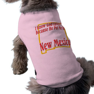 New Mexico - God Loves Me T-Shirt