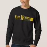 New Mexico Gold Pull Over Sweatshirts