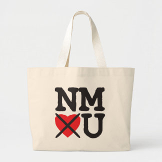 New Mexico Hates You Large Tote Bag