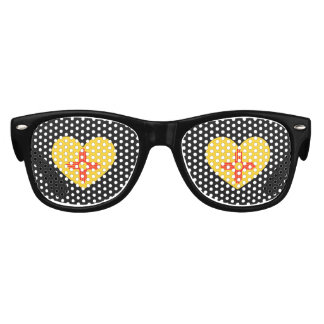 NEW MEXICO HEART DESIGN -  .png Kids Sunglasses
