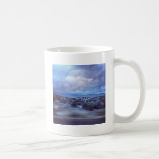 New Mexico Highway at Dusk Classic White Coffee Mug