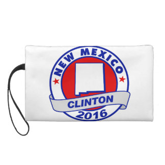 new mexico Hillary Clinton 2016.png Wristlet Clutch
