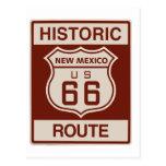 New México histórico RT 66 Tarjeta Postal