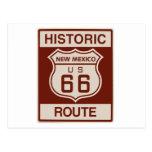 New México histórico RT 66 Tarjetas Postales