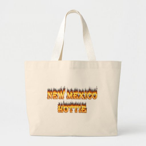 New Mexico hottie fire and flames Bag