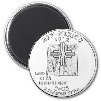 New México Imán Redondo 5 Cm