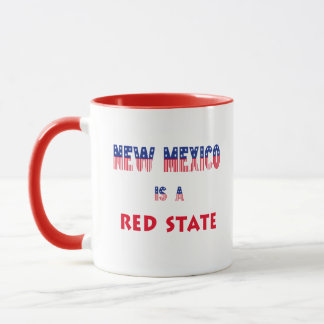 New Mexico is a Red State Mug