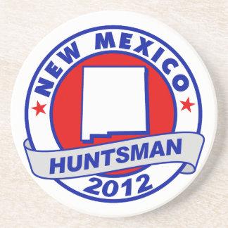 New Mexico Jon Huntsman Drink Coaster