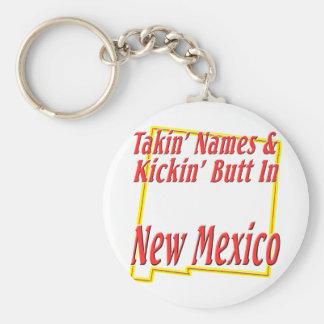 New Mexico - Kickin' Butt Keychain