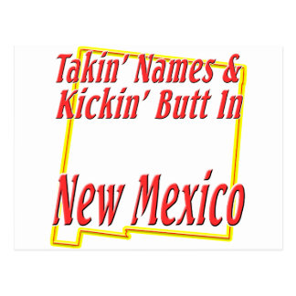 New Mexico - Kickin' Butt Postcard
