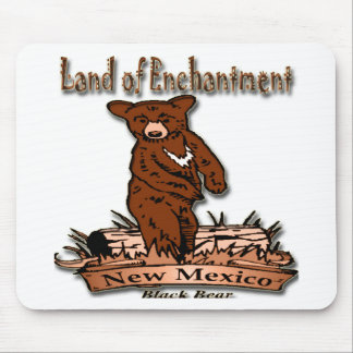New Mexico Land of Enchantment Bear Mouse Pad