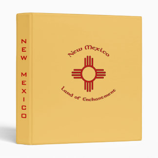 New Mexico, Land of Enchantment Binder