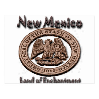 New Mexico Land of EnchantmentState Seal Post Cards