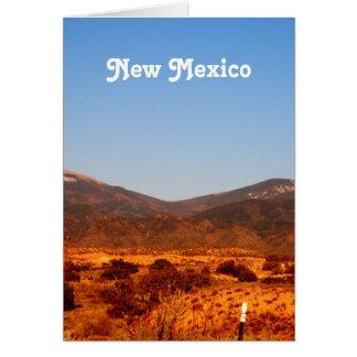 New Mexico Landscape Card