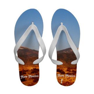New Mexico Landscape Flip-Flops