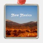 New Mexico Landscape Metal Ornament