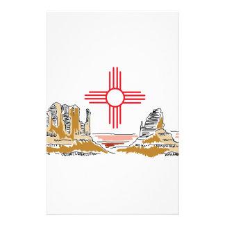 New Mexico Landscape Stationery