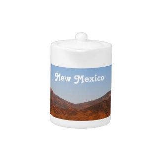 New Mexico Landscape Teapot
