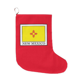 New Mexico Large Christmas Stocking