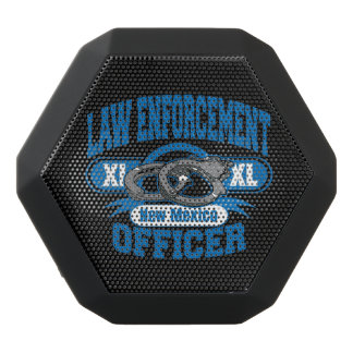 New Mexico Law Enforcement Officer Handcuffs Black Bluetooth Speaker