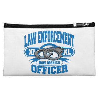 New Mexico Law Enforcement Officer Handcuffs Cosmetic Bag