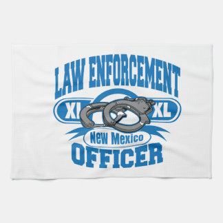 New Mexico Law Enforcement Officer Handcuffs Kitchen Towel