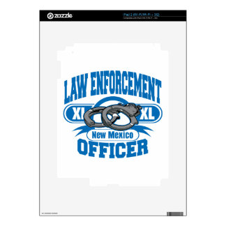 New Mexico Law Enforcement Officer Handcuffs iPad 2 Skin