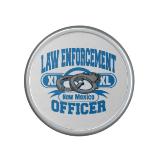 New Mexico Law Enforcement Officer Handcuffs Speaker
