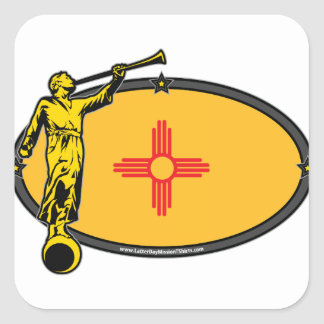 New Mexico LDS Mission no Label Angel Moroni Sticker