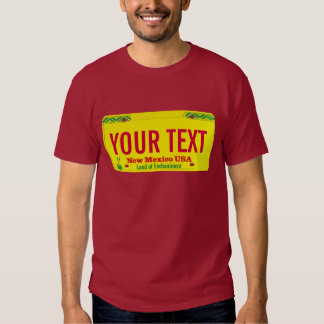 New Mexico license plate T Shirts