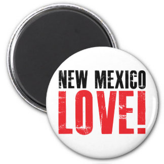 New Mexico Love 2 Inch Round Magnet