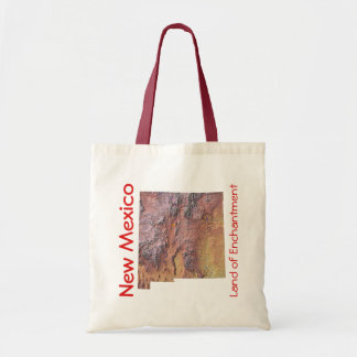 New Mexico Map Bag