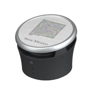 New Mexico map Bluetooth Speaker