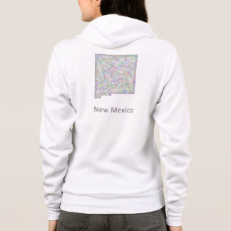New Mexico map Hoodie