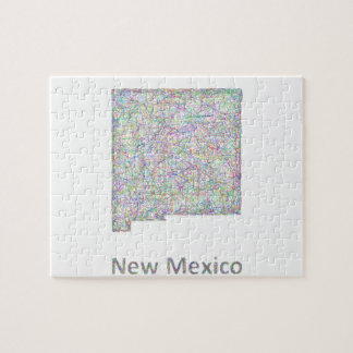 New Mexico map Jigsaw Puzzle