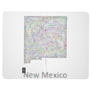 New Mexico map Journal