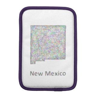 New Mexico map Sleeve For iPad Mini