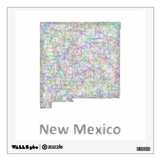 New Mexico map Wall Decal