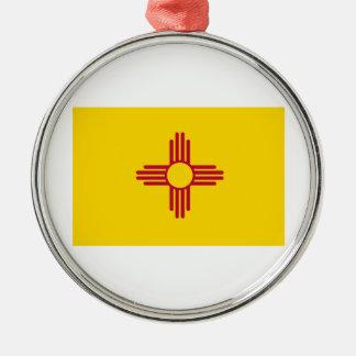 New Mexico Metal Ornament