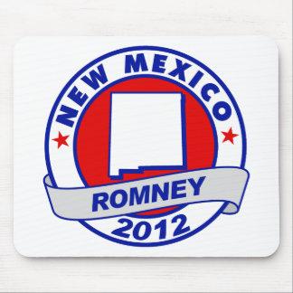 New México Mitt Romney Alfombrillas De Raton