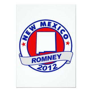 New Mexico Mitt Romney 5x7 Paper Invitation Card