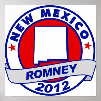 New México Mitt Romney Impresiones