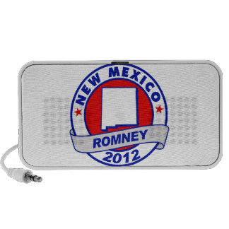New Mexico Mitt Romney Laptop Speaker