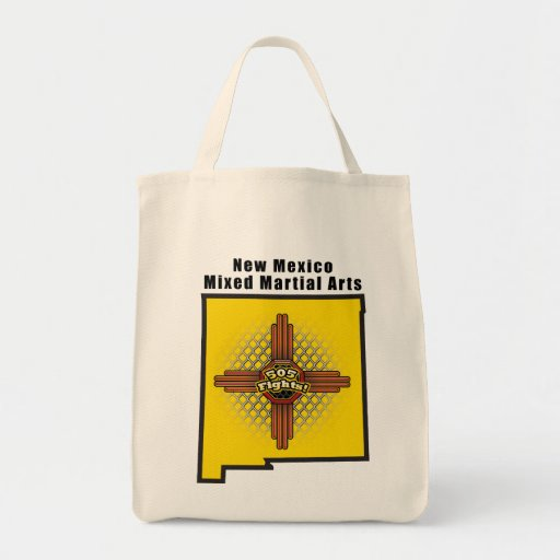 New Mexico MMA Grocery Tote Bag