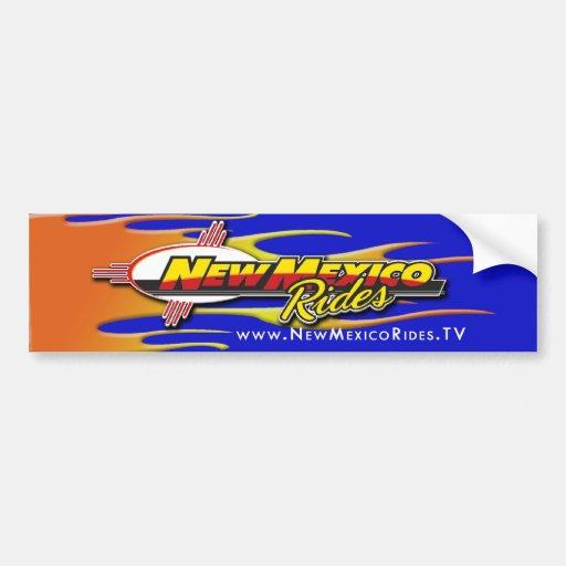 New México monta a pegatinas para el parachoques d Pegatina Para Auto