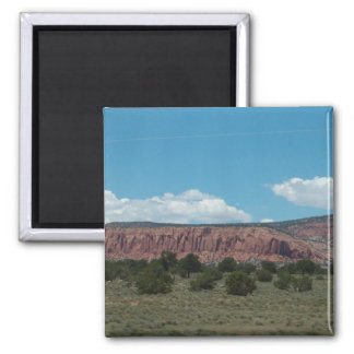 New Mexico Mountain landscape. Magnet