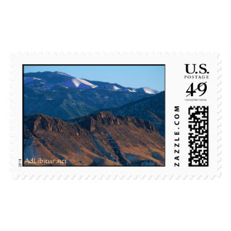 New Mexico Mountains In Winter Postage